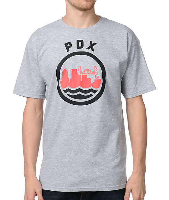 Casual Industrees PDX Grey T-Shirt