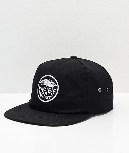 Casual Industrees PNW Black Snapback Hat  043be18d87e4