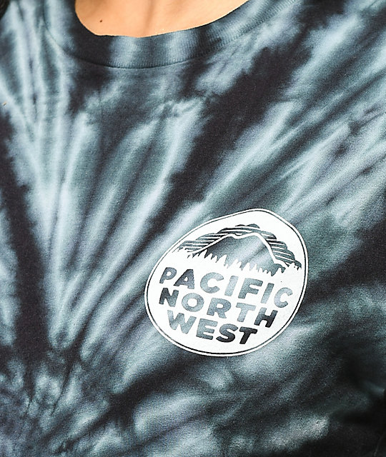 Casual Industrees PNW Blue Tie Dye T-Shirt