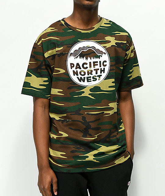 Casual Industrees PNW Camo T-Shirt