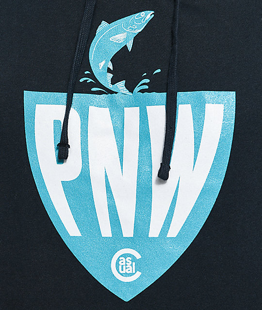 Casual Industrees PNW Fisherman Navy Hoodie