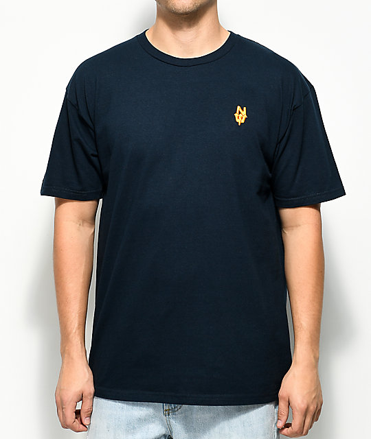 Casual Industrees PNW N. Dub Embroidered Navy T-Shirt