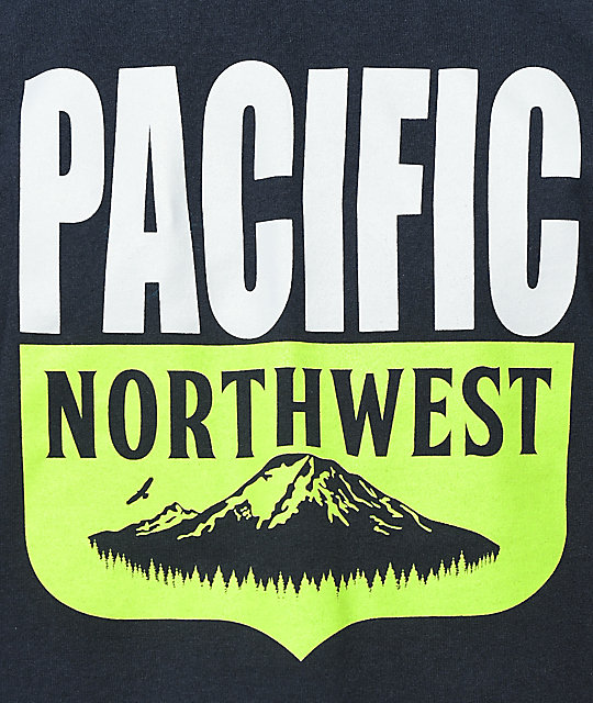 Casual Industrees PNW Shield Navy T-Shirt
