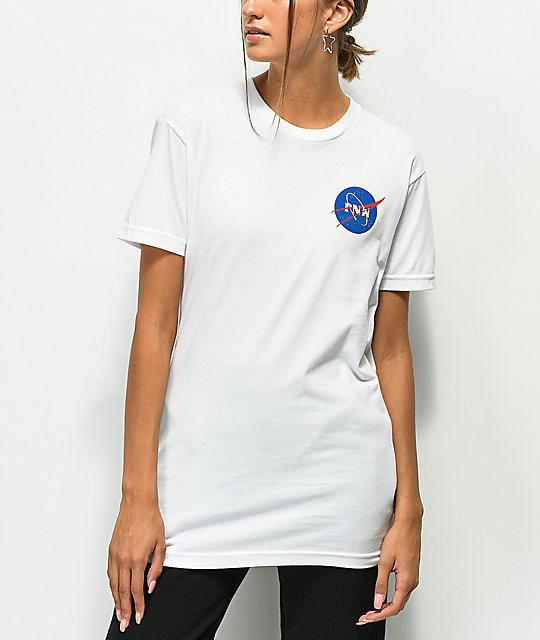 Casual Industrees PNW Space Slim White T-Shirt