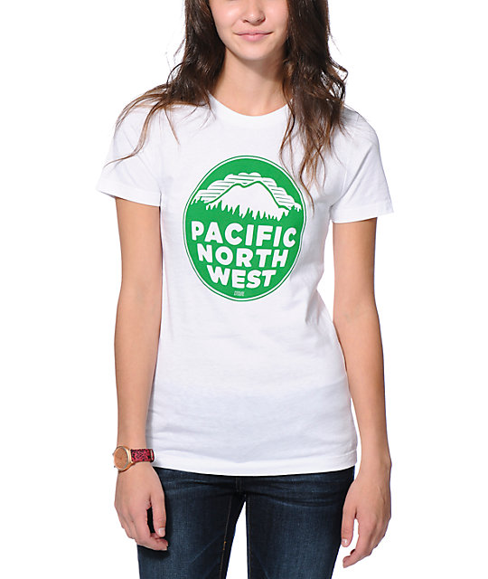 Casual Industrees PNW White T-Shirt