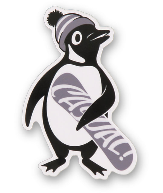 Casual Industrees Penguin Sticker