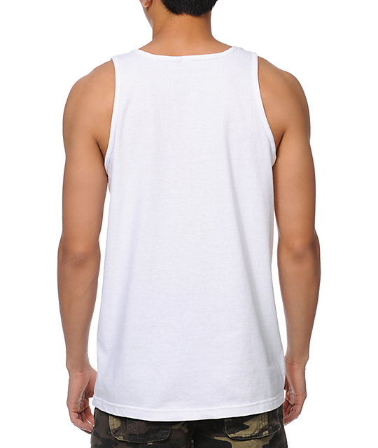 Casual Industrees Portland Roots White Tank Top