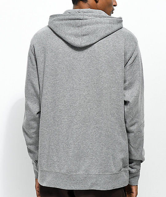Casual Industrees Rainier R Map Grey Hoodie