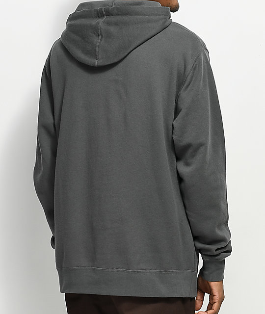 Casual Industrees SEA Johnny Tree Line Charcoal Hoodie