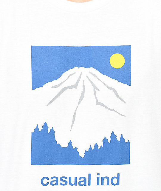 Casual Industrees SEA Rainier White T-Shirt