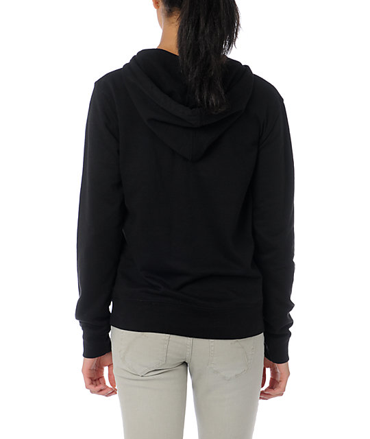 Casual Industrees Seattle Shadow Skyline Black Hoodie