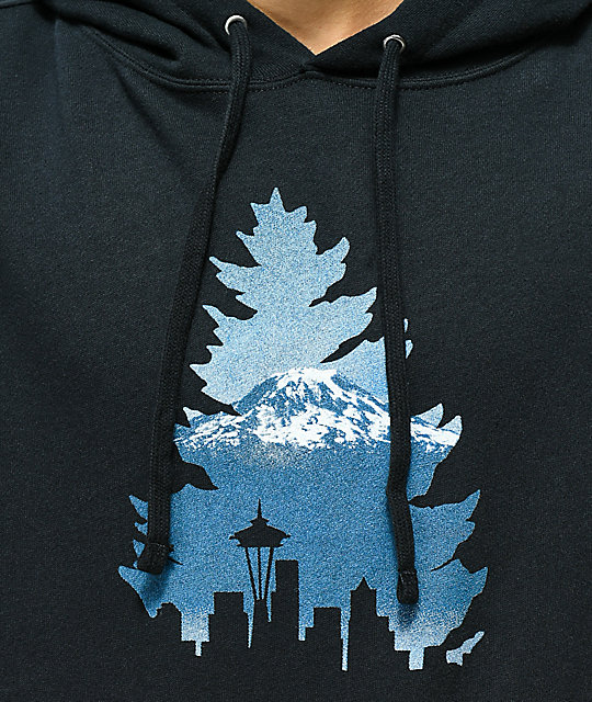 Casual Industrees Tree Navy Hoodie