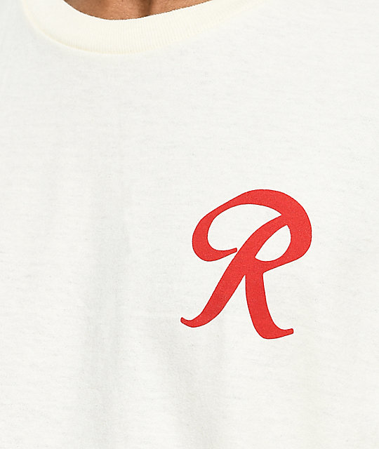 Casual Industrees x Rainier R For Life Cream T-Shirt