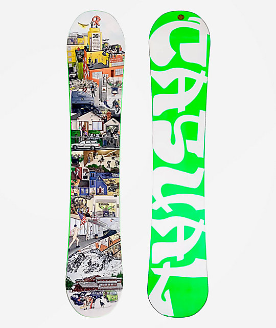Casual Industries Since '99 Snowboard Deck