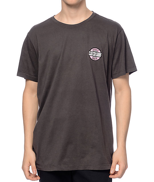 Catch Surfboard Co Core Checker Black T-Shirt