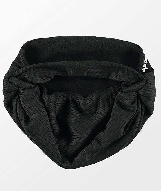 Celtek Scribble Black Facemask