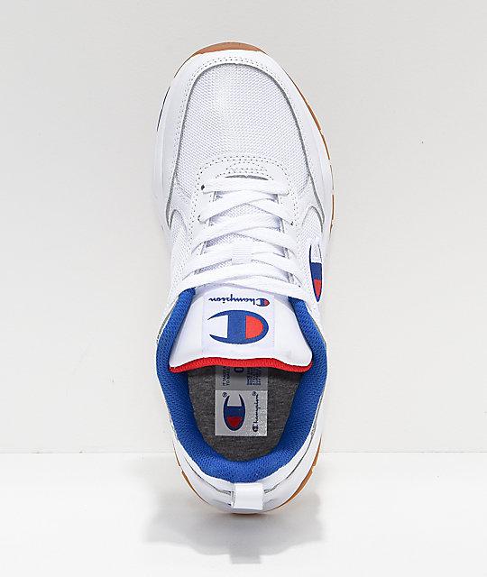 ce0b474d694fc ... Champion 93 Eighteen Classic White Shoes ...