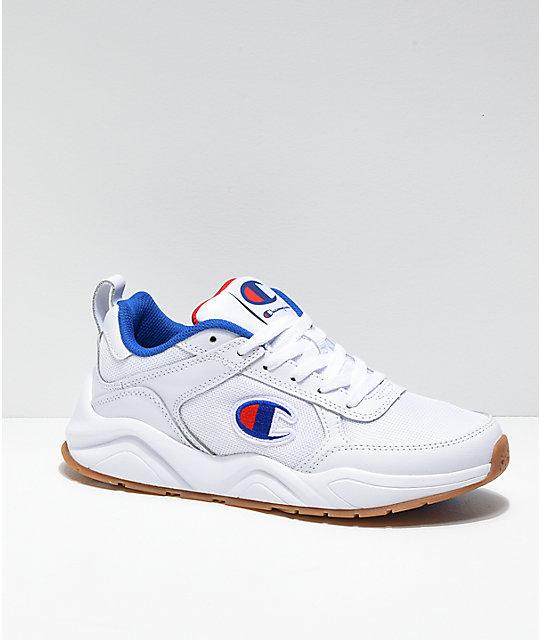 e0744c1bf Champion 93 Eighteen Classic White Shoes