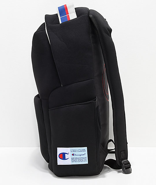Champion Attribute 22.5L Black Backpack
