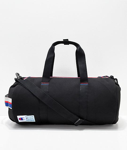 af9def536751 Champion Attribute Black Duffle Bag  Champion Attribute Black Duffle Bag ...
