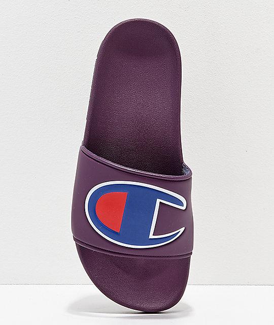 f39430cab67 ... Champion Berry Logo Slide Sandals ...