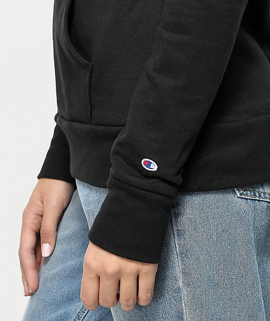 Champion Big C Black Hoodie
