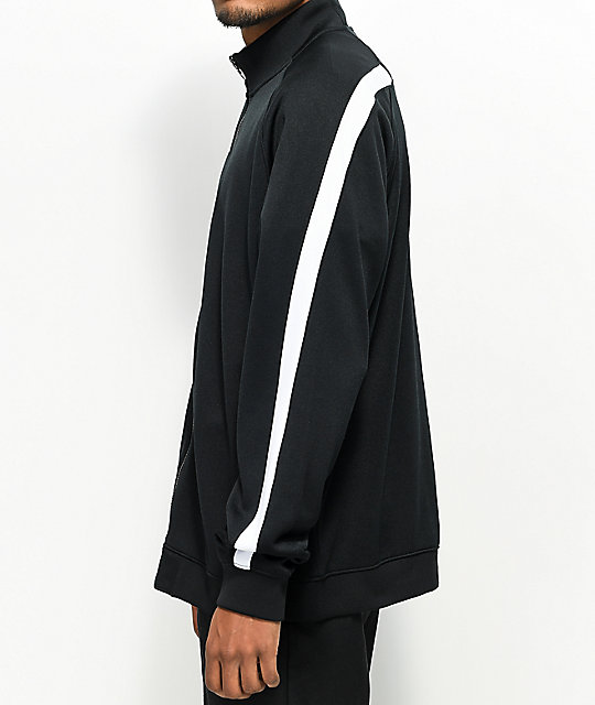 Champion Black & White Track Jacket