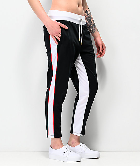 Champion Black Slim Track Pants
