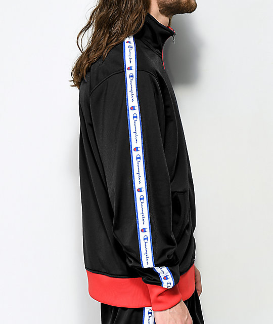 Champion Black Track Jacket