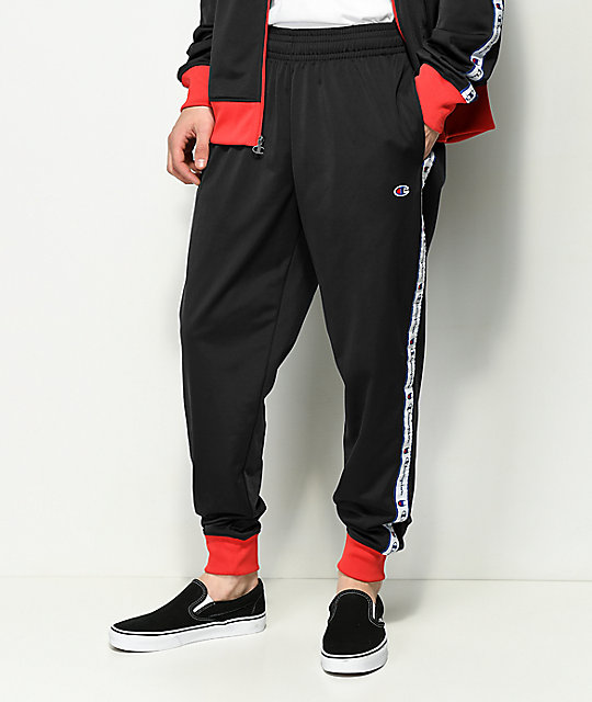 c30507571a43 Champion Black Track Pants  Champion Black Track Pants ...