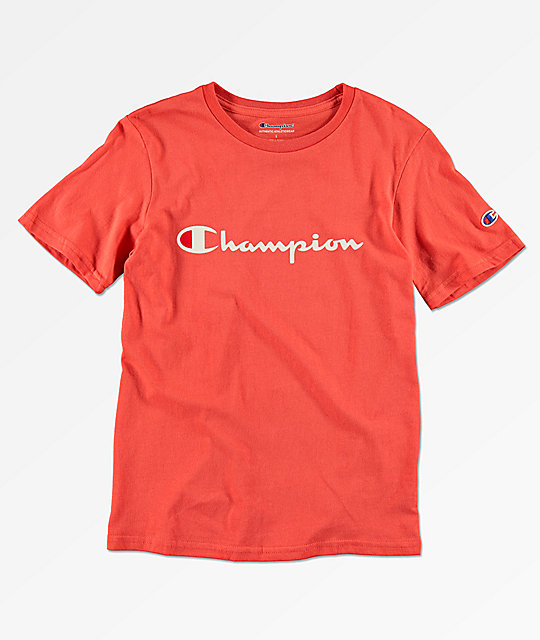 Champion Boy's Heritage Red T-Shirt