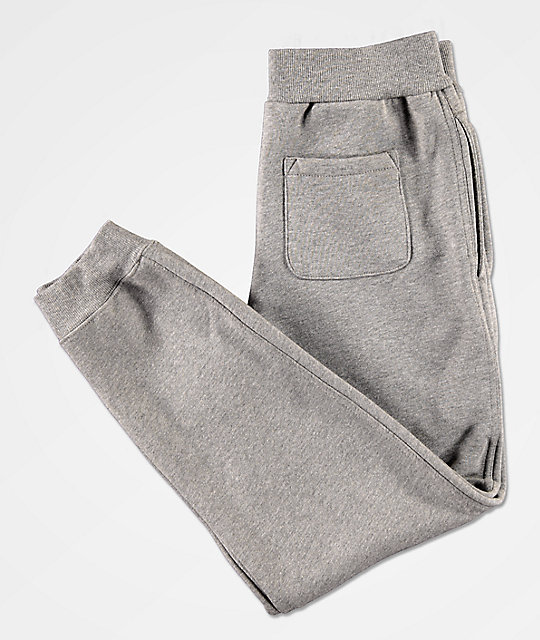 Champion Boys Premium Fleece Grey Jogger Pants