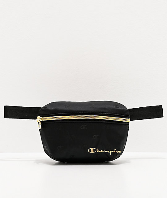 Champion Cadet Repeat Black Fanny Pack
