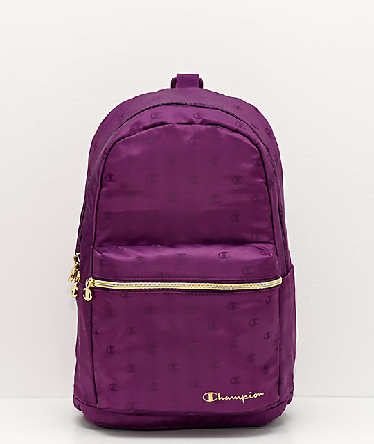 Champion Cadet Repeat Crossover mini mochila morada