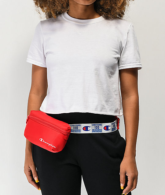 Champion Cadet Tag Red Fanny Pack