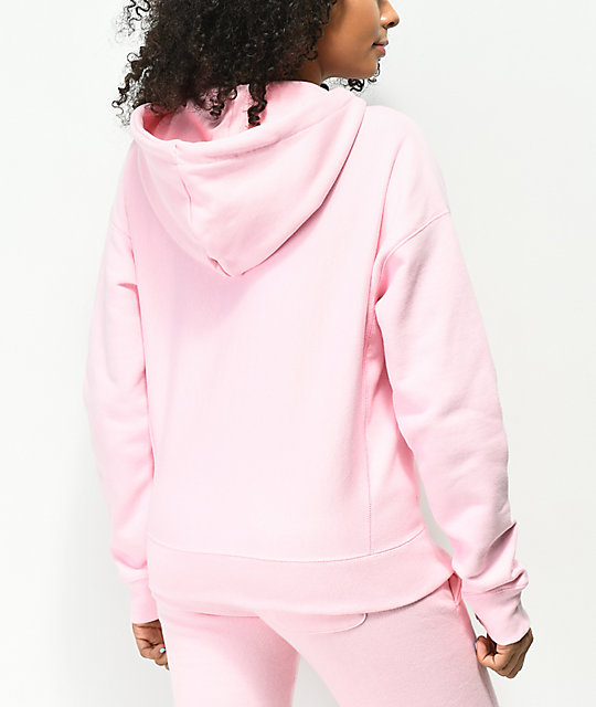Champion Candy Pink Reverse Weave Zip Up Hoodie