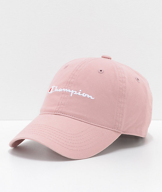 15d663720cf Champion Dream Pink Strapback Hat