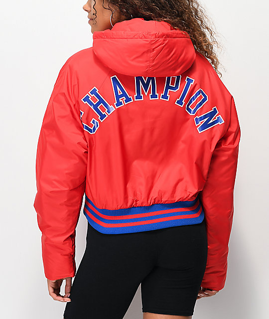 Champion Filled Fashion chaqueta corta roja