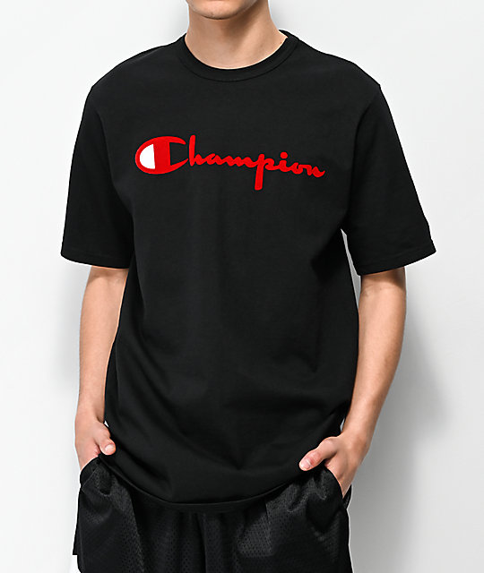 Women's Script Short Sleeve T shirt Online Exclusive Red