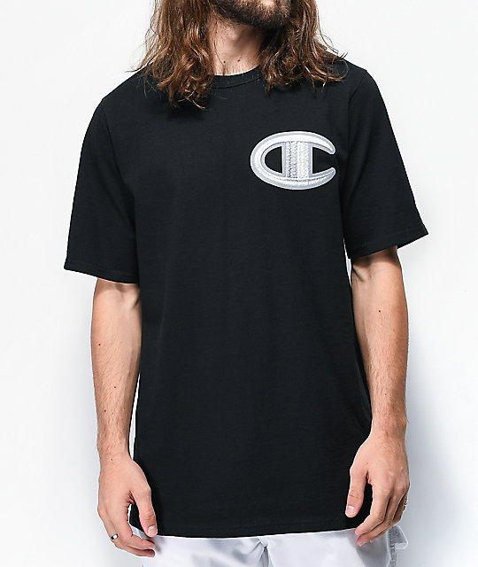 Champion Floss Stich C camiseta negra