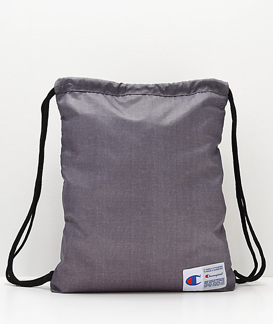 Champion Forever Grey Gym Cinch Bag