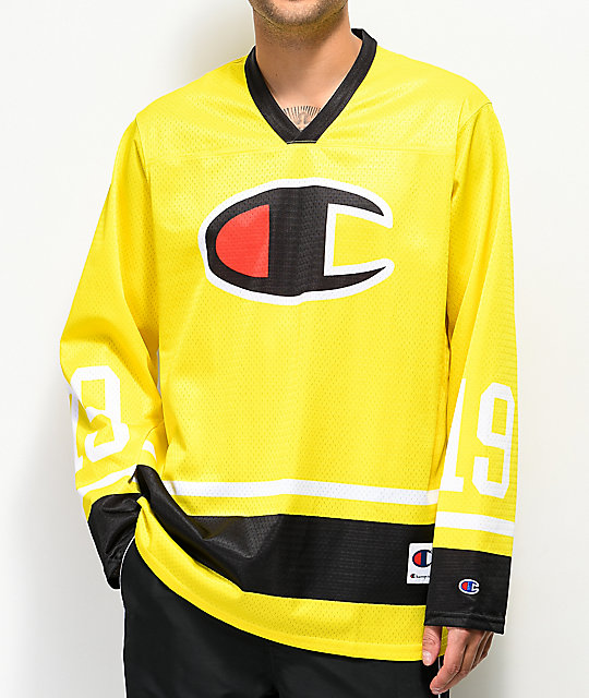 Champion Green Tart Long Sleeve Hockey Jersey  30d93d9fb90