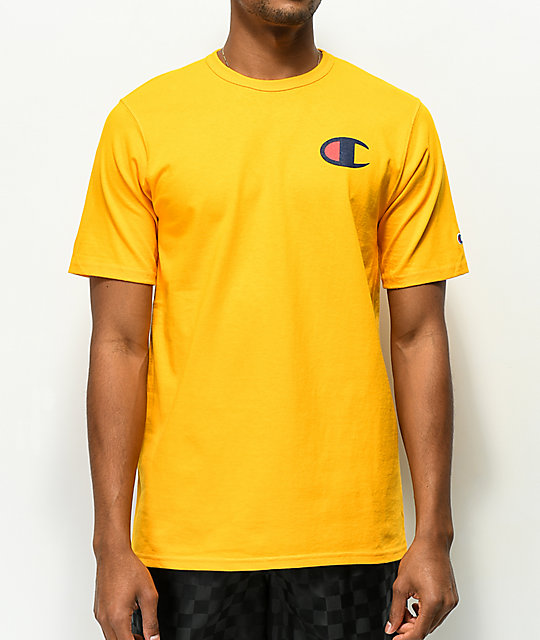 Champion Heritage Patriotic C Gold T-Shirt
