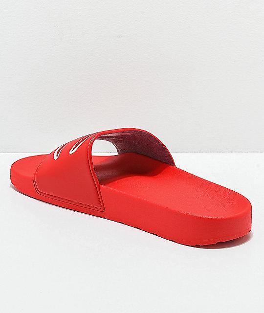 69ce632bdb78 Champion IPO Red Slide Sandals