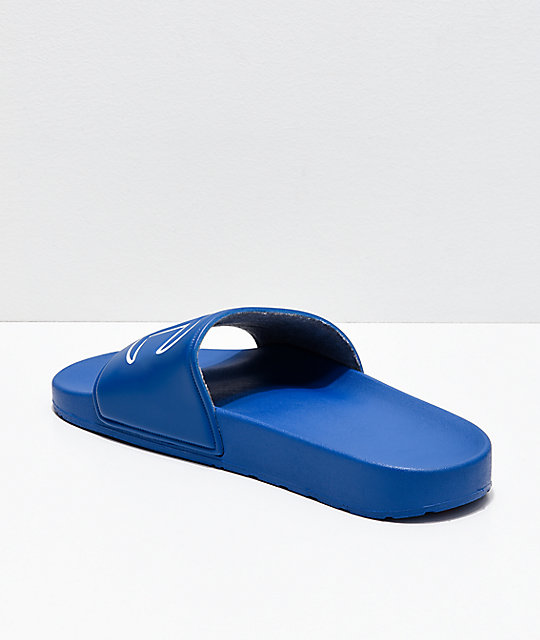 Champion IPO Royal Blue Slide Sandals
