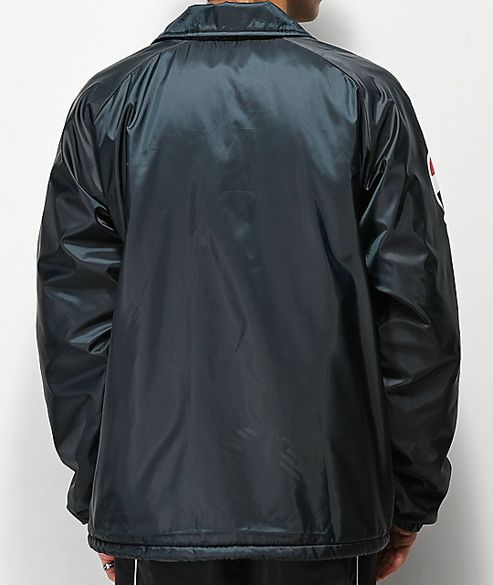 Champion Lined Black Coaches Jacket