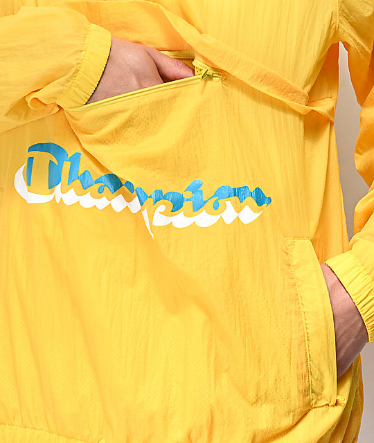 Champion Manorak Yellow Anorak Jacket