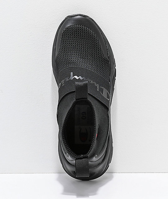 Champion Men's Rally Black Shoes