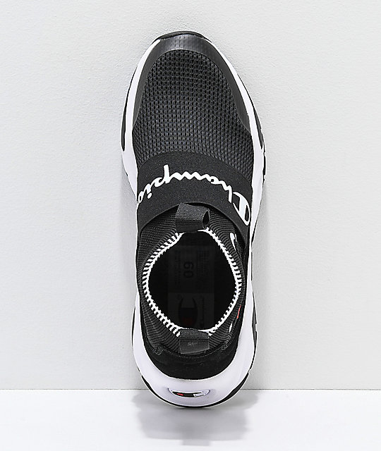 cca00447f65254 ... Champion Men s Rally Pro Black   White Shoes ...