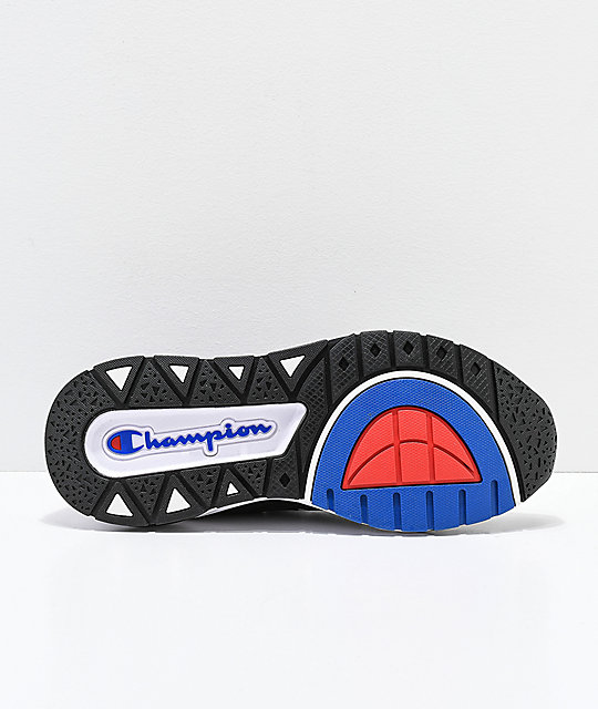 Champion Men's Rally Pro Black & White Shoes
